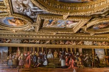 Salle du Conseil des Dix du Palais des Doges à Venise