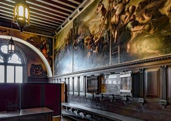 Salle de la Quarantia Civile Vecchia du Palais des Doges à Venise