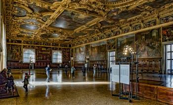 Salle du Grand Conseil Palais des Doges à Venise