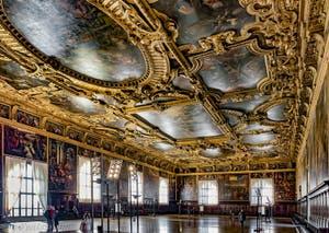 Salle du Grand Conseil du Palais des Doges à Venise