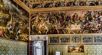 La Salle du Scrutin du Palais des Doges de Venise