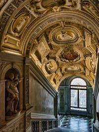 L'escalier d'Or du Palais des Doges à Venise