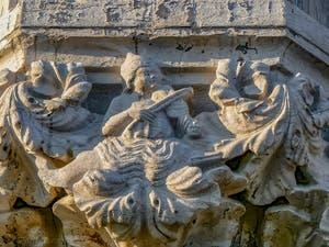 Chapiteau du Palais des Doges à Venise