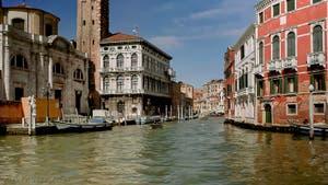 Le Palais Labia du XVIIe siècle, sur le Canal de Cannaregio à Venise