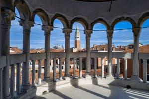 Le Palais Contarini del Bovolo et son escalier en colimaçon à Venise en Italie