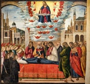 Vittore Carpaccio, Dormition de la Vierge à la Galerie Franchetti Ca' d'Oro à Venise en Italie