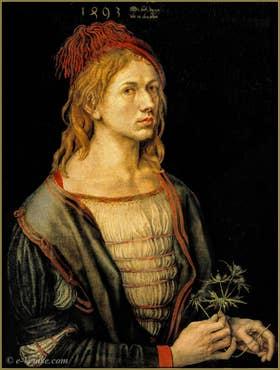 Albrecht Dürer autoportrait 1493.