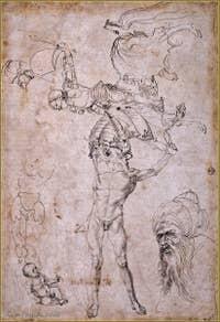 Albrecht Dürer - étude 1494.