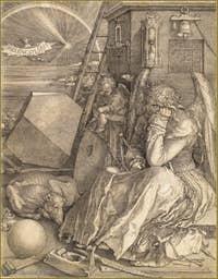 Albrecht Dürer - La Mélancolie 1514.