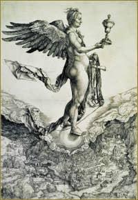 Albrecht Dürer Nemesis 1501.