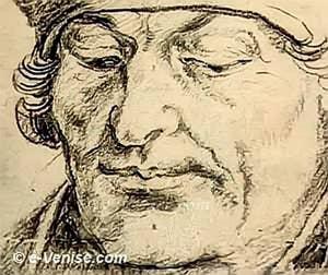 Erasme par Albrecht Dürer 1520