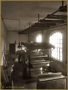 L'atelier de Fortuny à la Giudecca