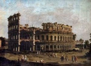 Canaletto, Le Colisée, à la Galerie Borghèse à Rome