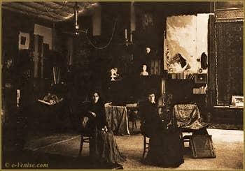 Maria Luisa Fortuny et Cecilia de Madrazo au Palazzo Martinengo