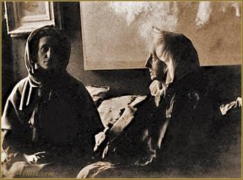 Maria Luisa Fortuny et Cecilia de Madrazo
