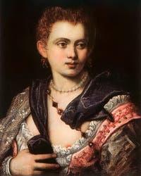 Le Tintoret, Portrait de la Courtisane Veronica Franco
