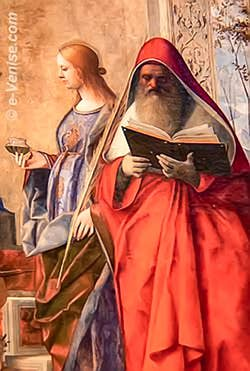 Giovanni Bellini - Sainte Lucie et Saint Jerôme