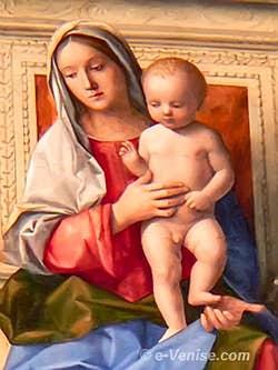 Giovanni Bellini - La Vierge et Jésus