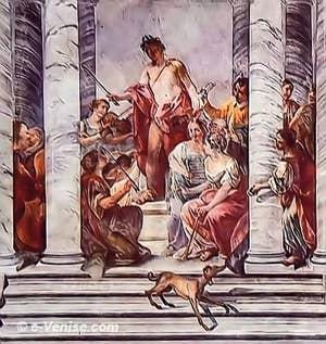 Jacopo Guarana Concerto des filles du choeur Ospedaletto Venise salle de la musique