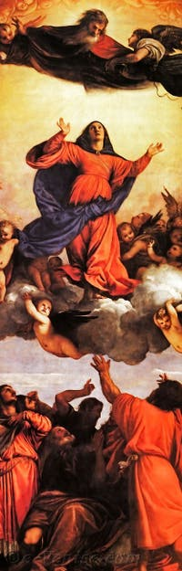Le Titien, Assomption de la Vierge dans la Basilique Santa Maria Gloriosa dei Frari à Venise