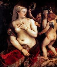 Le Titien, Vénus au Miroir