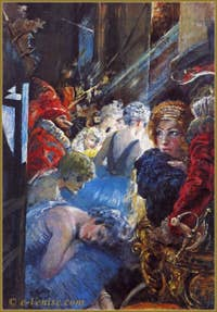 Mariano Fortuny : Les coulisses de la Scala de Milan 1934