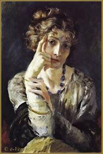 Portrait d'Henriette Fortuny - 1915