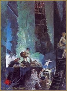 """Mariano Fortuny """"Répétition à la Scala de Milan"""""""