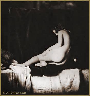 Mariano Fortuny, photo de nu