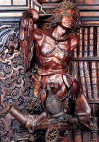 Francesco Pianta Le Jeune, La Fureur, à la Scuola Grande San Rocco à Venise