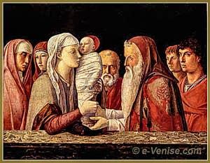 Giovanni Bellini, la présentation de Jésus au Musée Querini Stampalia à Venise