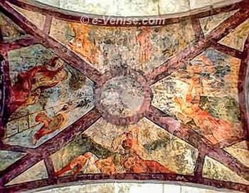 Les fresques du Rialto Vecchio o Parangon à Venise
