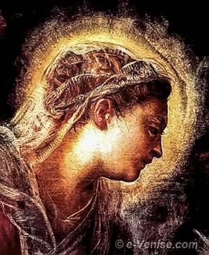 Tintoret l'Adoration des Rois Mages - Scuola San Rocco