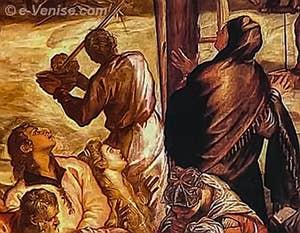 Tintoret La Crucifixion - Scuola San Rocco