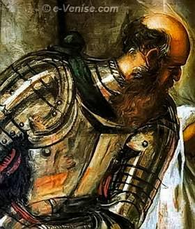 Tintoret Ecce Homo - Détail
