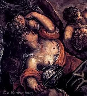 Tintoret Le massacre des innocents à la Scuola San Rocco
