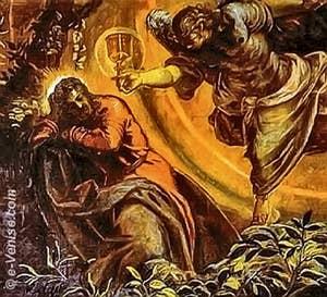 Tintoret la Prière dans le Jardin des Oliviers Sucola San Rocco à Venise