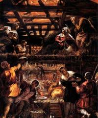 Le Tintoret, L'adoration des Bergers à la Scuola Grande San Rocco à Venise