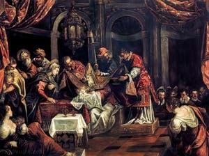 Le Tintoret, La Circoncision, à la Scuola Grande San Rocco à Venise