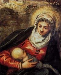 Le Tintoret, La Fuite en Égypte, Scuola Grande San Rocco à Venise