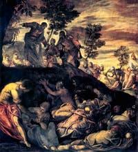Le Tintoret, La Multiplication des Pains et des Poissons, à la Scuola Grande San Rocco à Venise