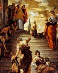 Le Tintoret, La Présentation de la Vierge au Temple