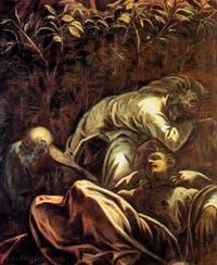 Le Tintoret, La Prière dans le Jardin des Oliviers, à la Scuola Grande San Rocco à Venise