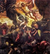 Le Tintoret, La Résurrection du Christ, à la Scuola Grande San Rocco à Venise