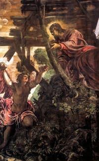 Le Tintoret, La Tentation du Christ, à la Scuola Grande San Rocco à Venise