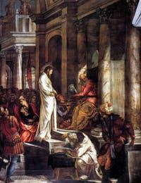 Le Christ devant Pilate de Tintoret à la Scuola Grande San Rocco à Venise