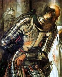 Ecce Homo ou le Couronnement d'épines du Tintoret à la Scuola Grande San Rocco à Venise