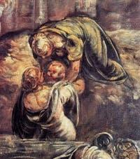 Le Tintoret, Le Massacre des Innocents, à la Scuola Grande San Rocco à Venise