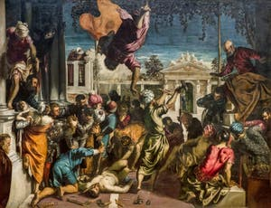 Tintoret, Le Miracle de Saint-Marc délivrant l'Esclave, à la Galerie de l'Accademia à Venise