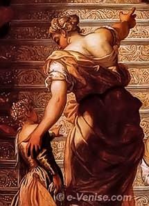 Tintoret Présentation de la Vierge au Temple